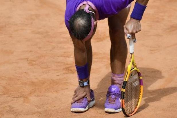 Rafael Nadal annonce mettre fin à sa saison à cause d'un pied douloureux