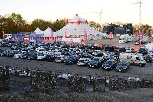 Affluence record pour le Festival du Cirque de Namur qui a accueilli 23.000 spectateurs
