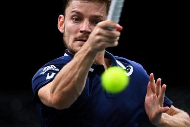 ATP Antalya: David Goffin stoomt door naar kwartfinales