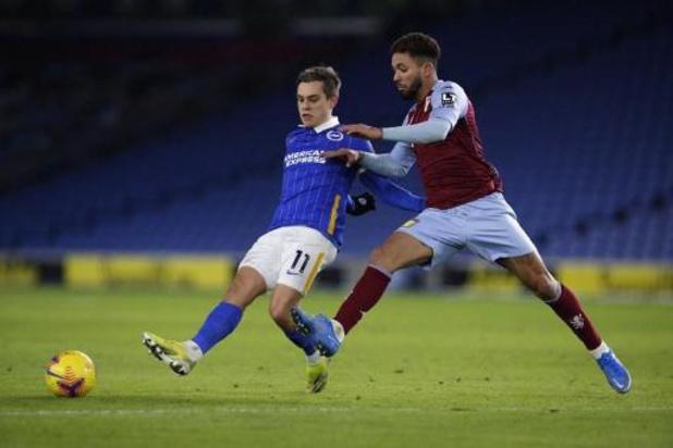 Les Belges à l'étranger - Brighton et Trossard accrochés par Aston Villa, Lyon battu