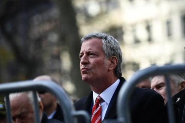 Presidentsverkiezingen VS - New Yorkse burgemeester De Blasio steunt Democraat Sanders