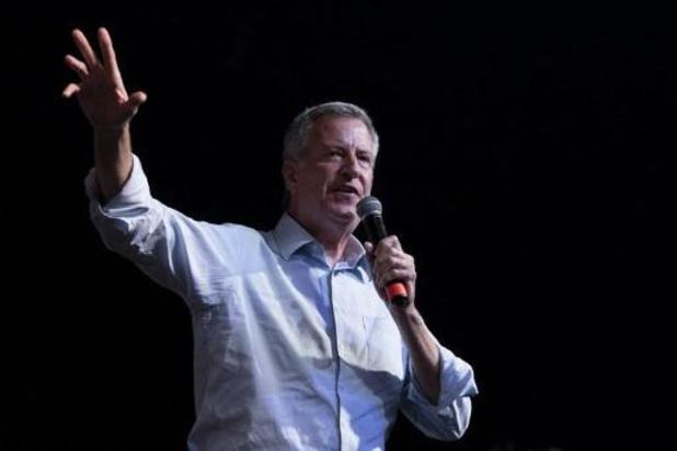 Burgemeester Bill de Blasio van New York zet punt achter presidentscampagne