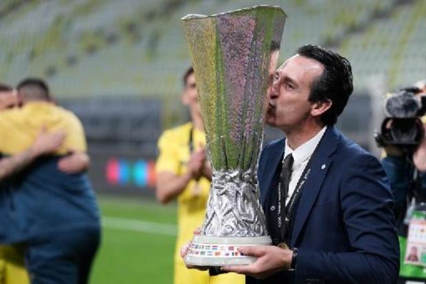 """Villarreal-trainer Emery verovert nieuwe eindzege: """"Hard werken is het geheim"""""""