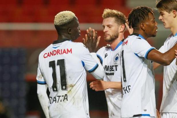 Jupiler Pro League - Bruges s'impose en patron face à un Malines déforcé