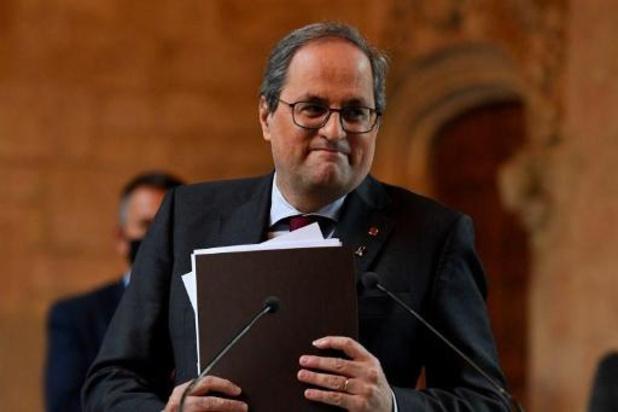 Spaans Grondwettelijk Hof verklaart beroep van Quim Torra ontvankelijk