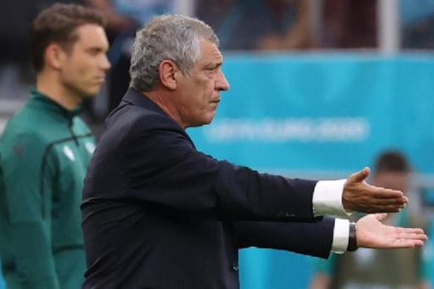 """Euro 2020 - """"C'est dur de marquer"""", résume Fernando Santos après la victoire du Portugal"""