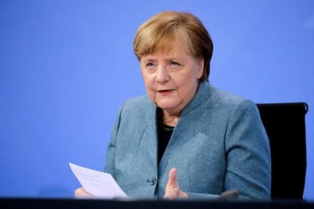 Merkel wil Duitsland nog zeker tot eind februari op slot houden