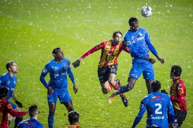 Jupiler Pro League - Racing Genk laat ook in Mechelen punten liggen