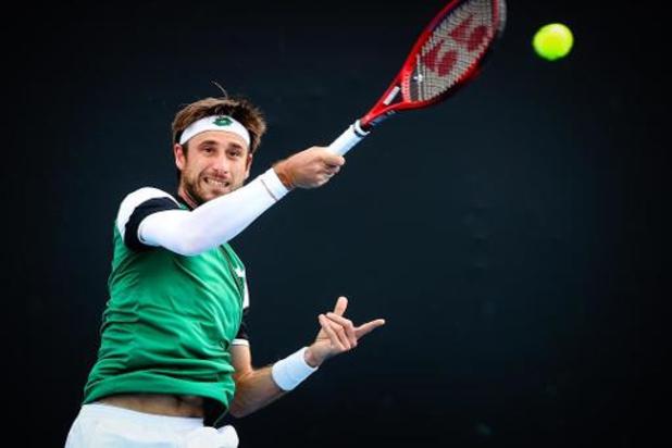 Sander Gillé rejoint les quarts de finale en double mixte