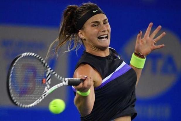 WTA Elite Trophy - Aryna Sabalenka bat Kiki Bertens en finale du Masters B