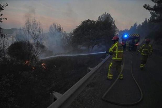 Zware bosbranden aan Franse Côte d'Azur
