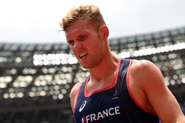 JO 2020 - Kevin Mayer souffre du dos, en difficulté après 3 épreuves du décathlon
