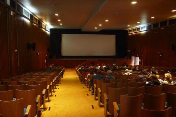 Coronavirus - Réouverture des cinémas: Bénédicte Linard assiste à une séance au Kinograph à Ixelles