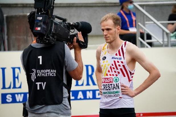 OS 2020 - Eliott Crestan plaatst zich met tweede plaats in reeksen van 800m voor de halve finales