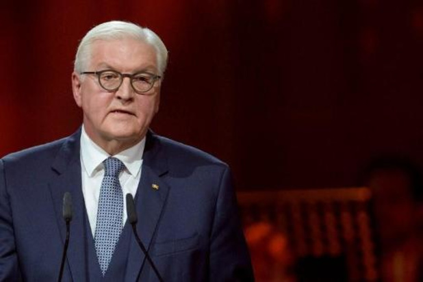 Coronavirus - Duitse president Steinmeier in quarantaine, eerste test negatief