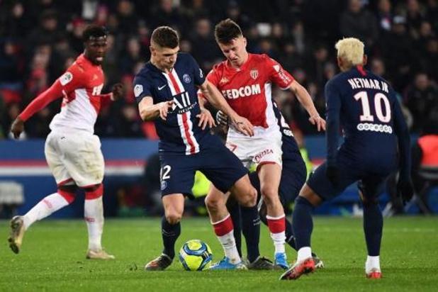Les Belges à l'étranger - Partage spectaculaire entre le PSG et Monaco, Meunier joue 90 minutes