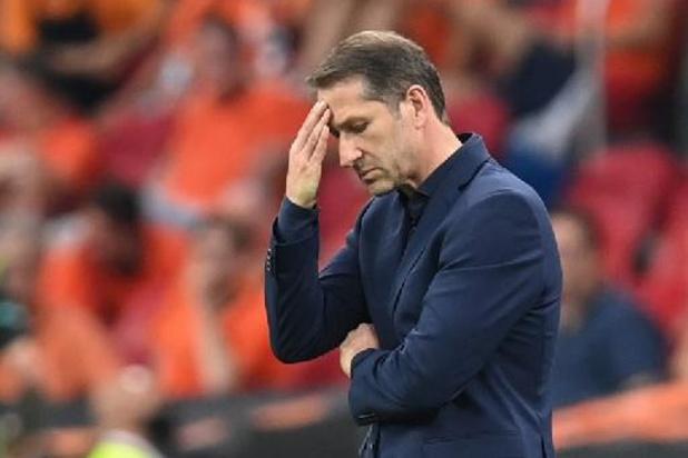 Euro 2020 - Franco Foda, le sélectionneur autrichien, regrette les ballons perdus contre les Pays-Bas