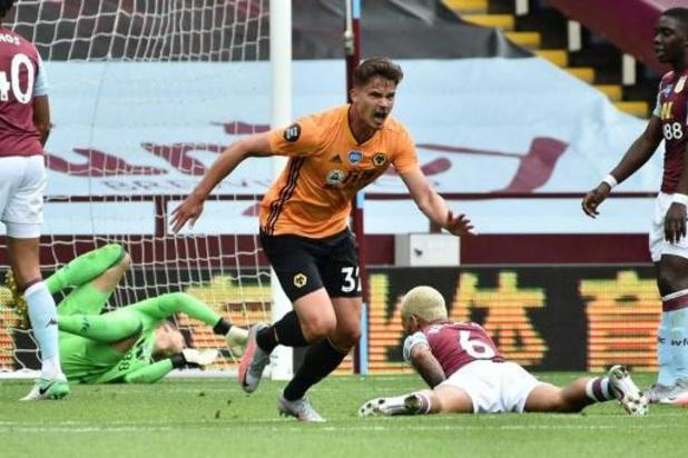 Dendoncker trapt Wolverhampton naar driepunter bij Aston Villa