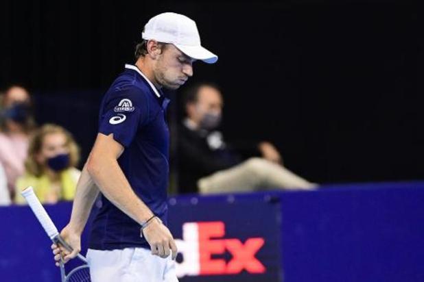 European Open - Topreekshoofd Goffin verliest tegen qualifier Giron opnieuw bij entree in Antwerpen