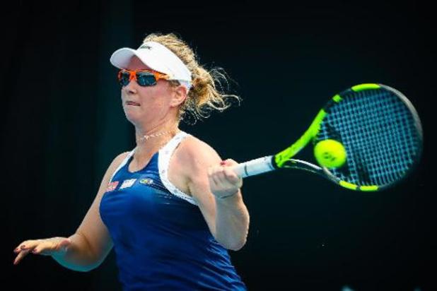 Ysaline Bonaventure sortie au 2e tour des qualifications de l'Open d'Australie
