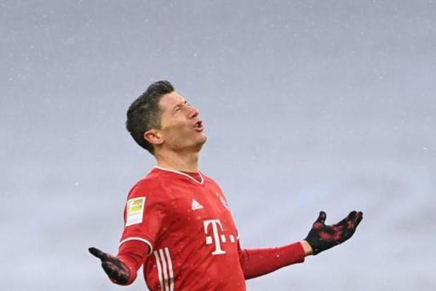 Bundesliga - Le Bayern champion d'hiver avec un Lewandowski inarrêtable