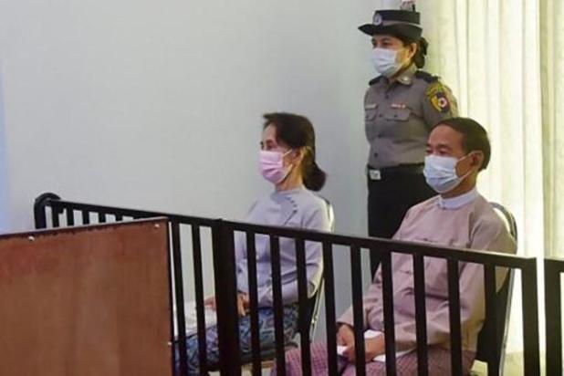 A son procès, l'ex-chef de l'Etat birman raconte les premières heures du coup d'Etat