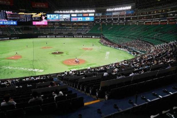 Au Japon, du baseball devant 34.000 spectateurs pour tester les mesures anti-Covid