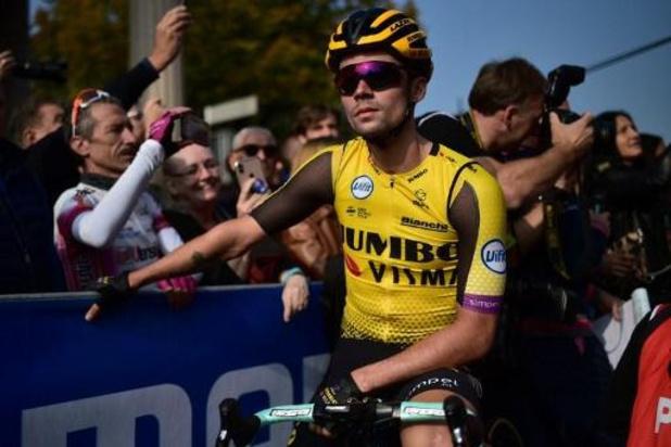 Parijs-Tours - Primoz Roglic sluit wielerjaar als nummer een af