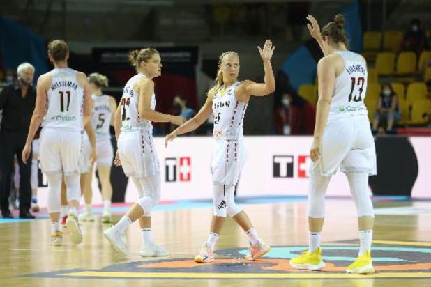 Belgian Cats halen in tweede groepswedstrijd fors uit tegen Slovenië