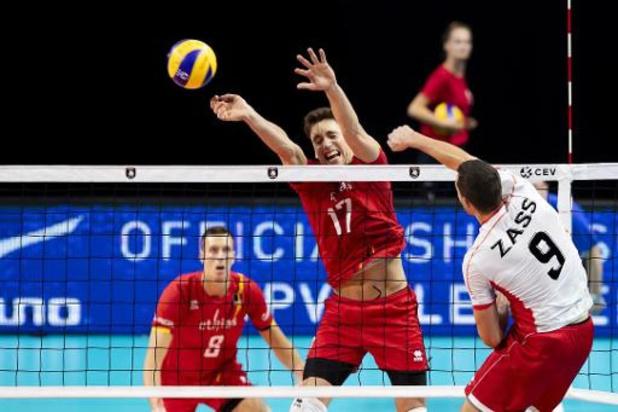 Euro de volley (m) - Les Red Dragons débutent par une victoire face à l'Autriche