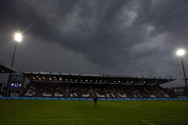 Les 35 dernières minutes du match Beerschot - Cercle de Bruges se joueront mardi