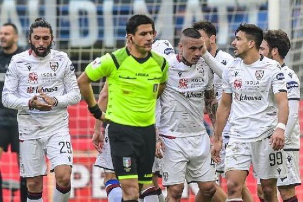 Belgen in het buitenland - Cagliari en Nainggolan schieten niet veel op met zoutloos gelijkspel