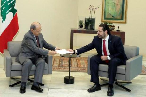 Libanese president belast Hariri met lopende zaken