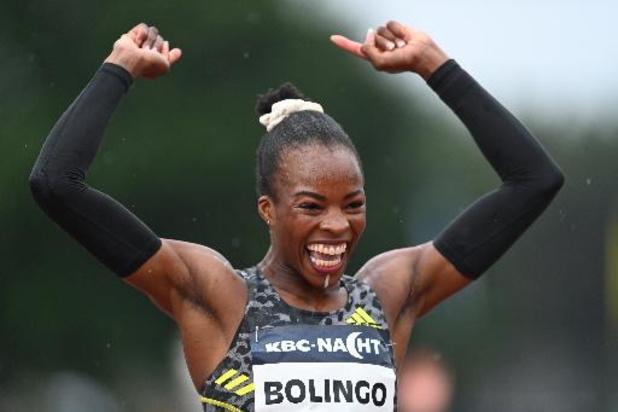 Nuit de l'athlétisme - Cynthia Bolingo améliore son record de Belgique du 400m