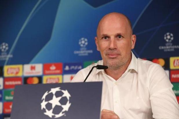 """""""Bruges-Real Madrid, un match très intéressant"""", pour Philippe Clément"""