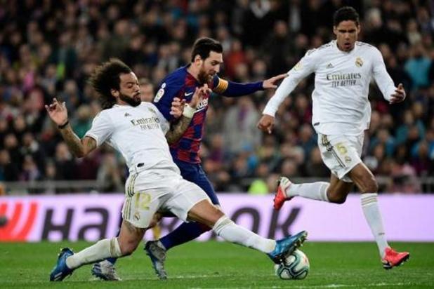 Espagne: tout le football à l'arrêt, sauf les deux ligues professionnelles