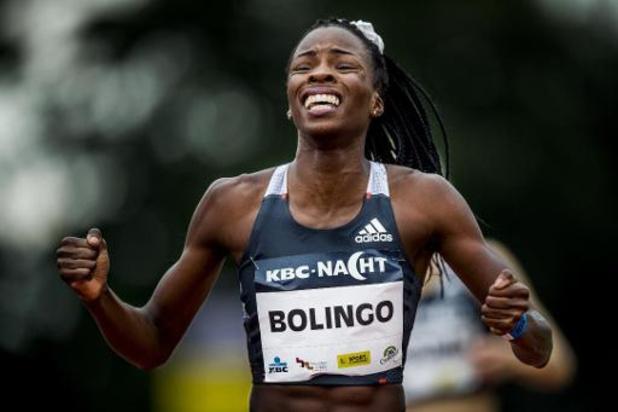 Nacht van de Atletiek - Cynthia Bolingo verpulvert met derde wereldjaarprestatie Belgisch record op 300 meter