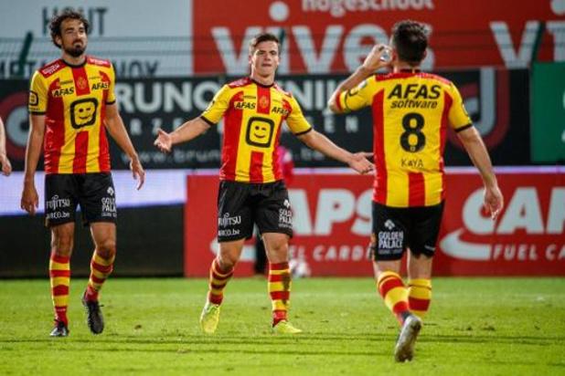 Jupiler Pro League - Mené à la marque par Courtrai, Malines marque trois buts en neuf minutes