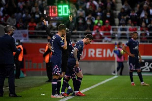 Lionel Messi fait ses débuts en Ligue 1 avec le PSG à Reims