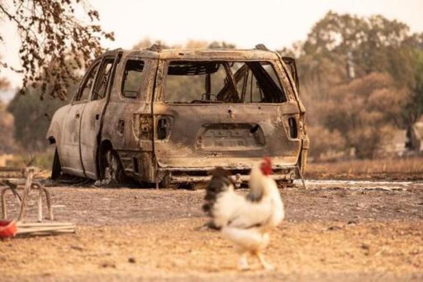 Gouverneur Californië roept noodtoestand uit vanwege bosbranden