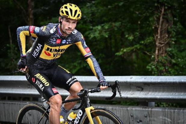 """Tour de France - Primoz Roglic start niet in negende etappe: """"Hij ziet te veel af van blessures"""""""