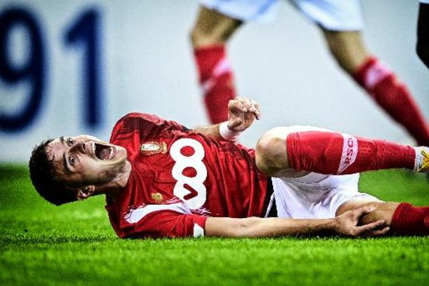 Zinho Vanheusden kan opnieuw met de bal trainen