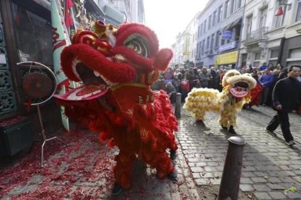 Chinees Nieuwjaar van start zonder traditioneel festival in Antwerpen