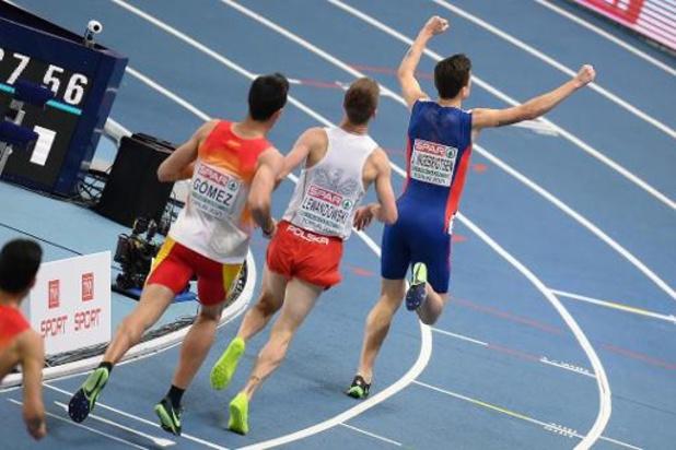 Championnats d'Europe d'athlétisme en salle - Jakob Ingebrigtsen disqualifié, Marcin Lewandowski titré sur 1.500 mètres