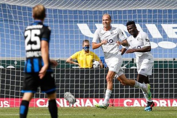 Jupiler Pro League - Beerschot behoudt maximum ook na verplaatsing naar Brugge