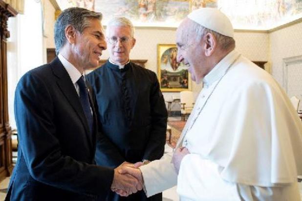Le pape François reçoit Antony Blinken