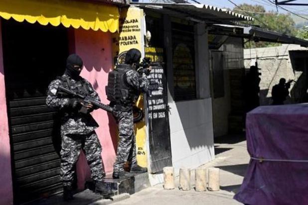 Minstens 25 doden bij schietpartij in Rio de Janeiro