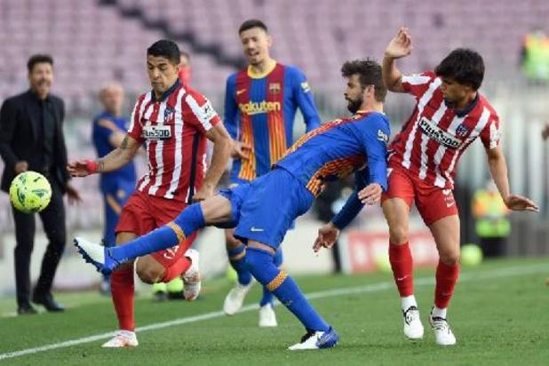 Belgen in het buitenland - Barcelona en Atlético Madrid geven elkaar geen duimbreed toe in Spaanse titelstrijd