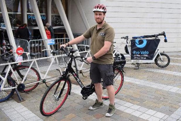 Liège s'équipe de vélos à assistance électrique