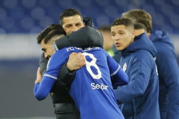 Bundesliga - Schalke 04 boekt tegen Augsburg eerste zege in 92 dagen tijd